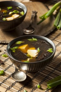 Hot Homemade Miso Soup